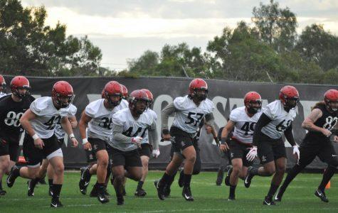 Spring ball kicks off for Aztec football
