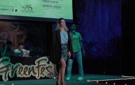 Students reduce, reuse and re-style at GreenFest Enviro-Fashion Show