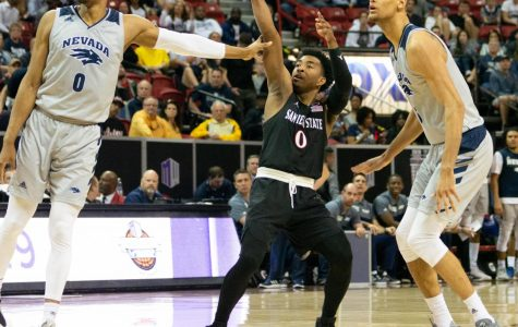 SDSU one win away from back-to-back Mountain West Tournament titles, face Utah State in final