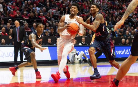 Aztecs fumble away game on senior night in 76-74 loss to Fresno State