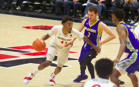 Men's basketball blows by San José State in 84-56 victory