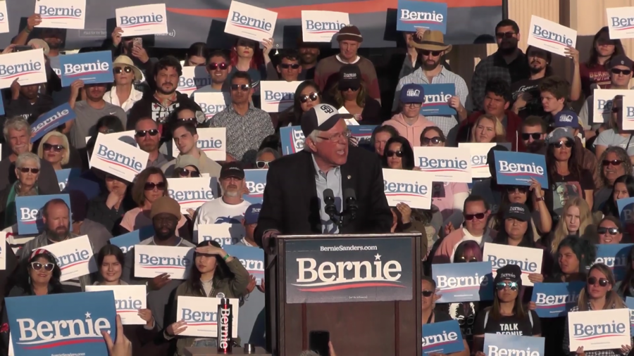 Bernie+Sanders+rallies+voters+for+2020+campaign