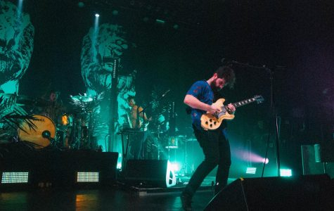British band Foals takes the stage at the Observatory