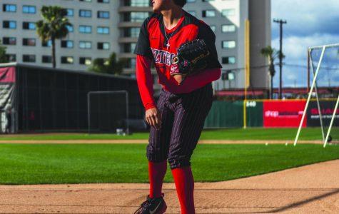 Junior pitcher Adrian Mardueno succeeds amid mother's illness