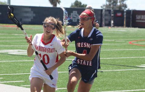 Lacrosse ends six-game losing streak with victory over Fresno State