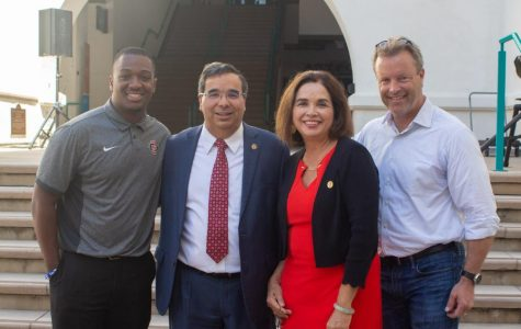 SDSU community welcomes new provost, senior vice president