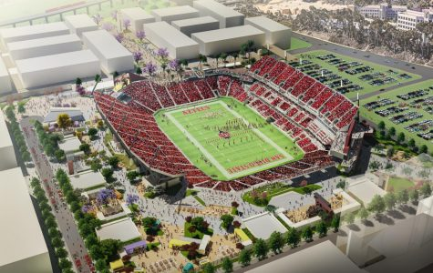 SDSU reveals new stadium renderings, student-specific amenities