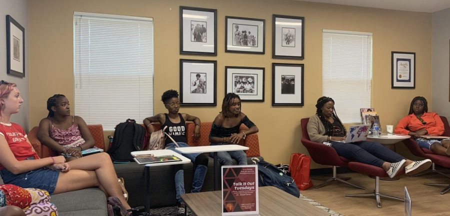 The Black Resource Center hosted a debrief meeting to discuss suspect racial descriptions.