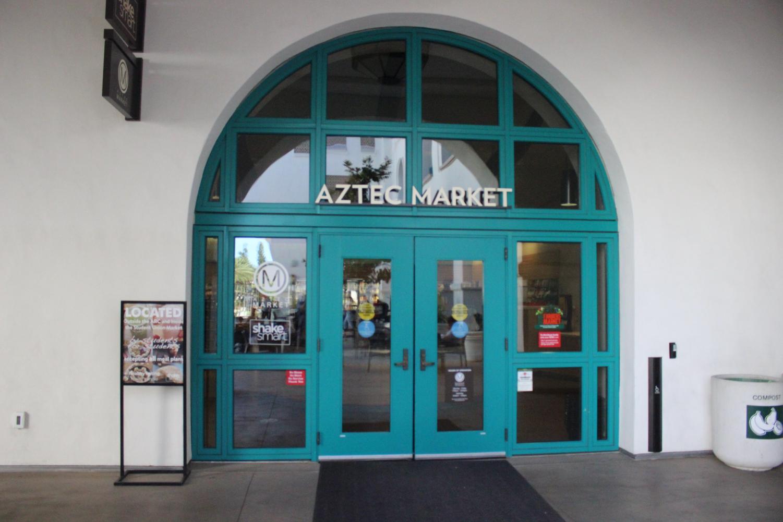 Select Aztec Market locations will no longer accept cash payments.