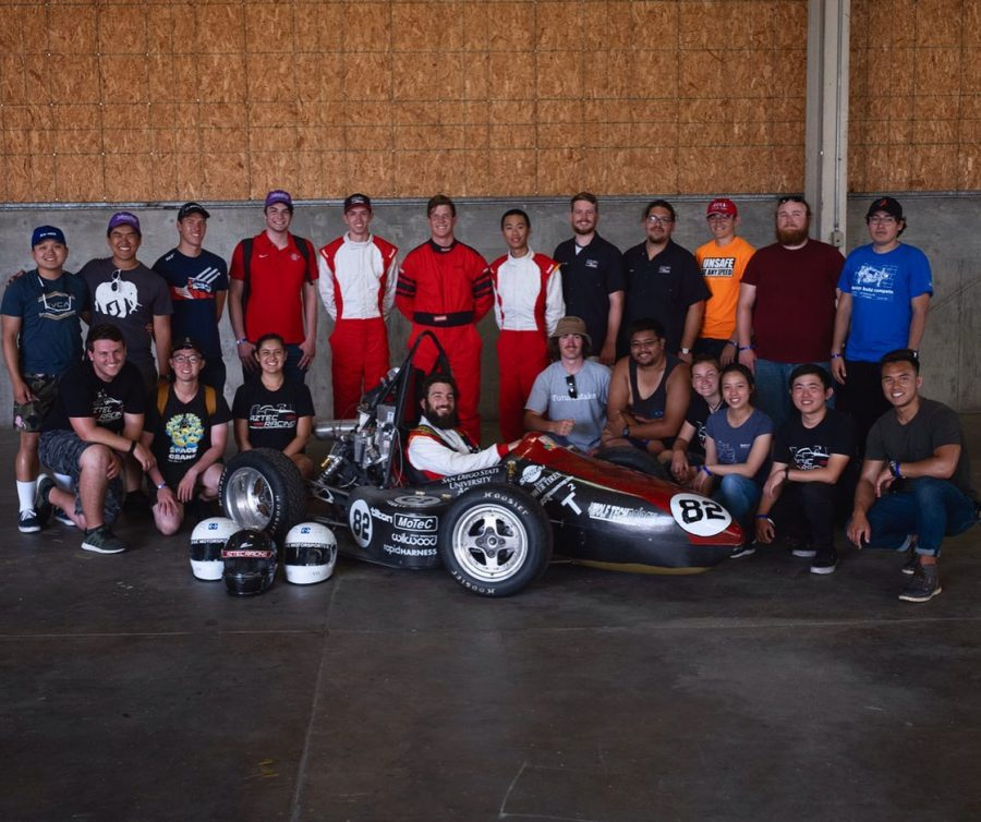 Aztec+Racing+is+looking+to+improve+this+year+after+placing+28th+out+of+76+teams+at+the+annual+Formula+Society+of+Automotive+Engineers+in+June.