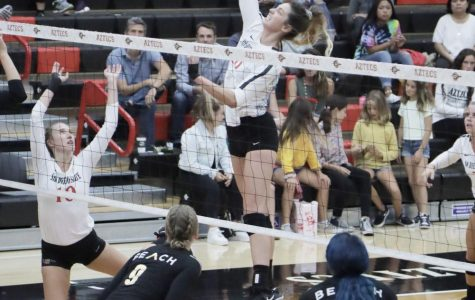 Column: Lexie Hamrick excelling in expanded role, leads team in blocks