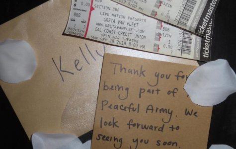 My golden ticket to see Greta Van Fleet