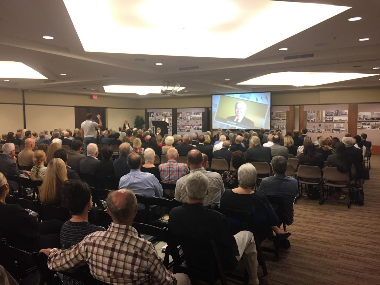 SDSU held a celebration of life for former professor Glen Broom.