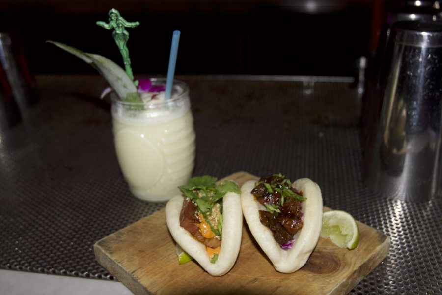 Pina+colada+and+bao+buns