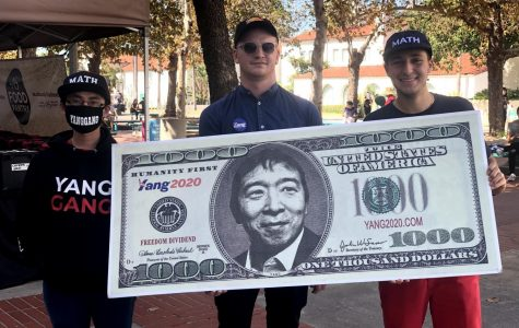 Student activists host canvassing event for Democratic presidential candidate Yang