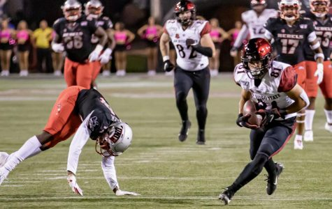Aztecs hold on for 20-17 win over UNLV, enter bye week with 7-1 record