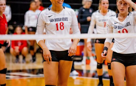 Aztecs senior middle blocker named Mountain West Offensive Player of the Week