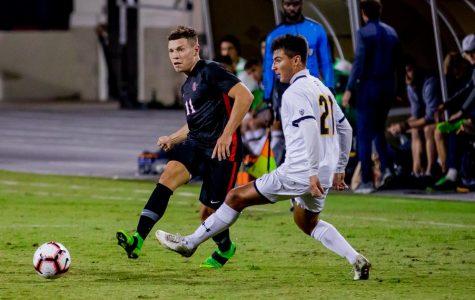 Aztecs allow three first-half goals in 4-0 loss to California