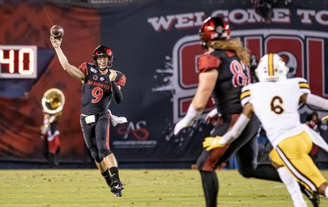 Aztecs use strong second half against Wyoming, improve to 5-1
