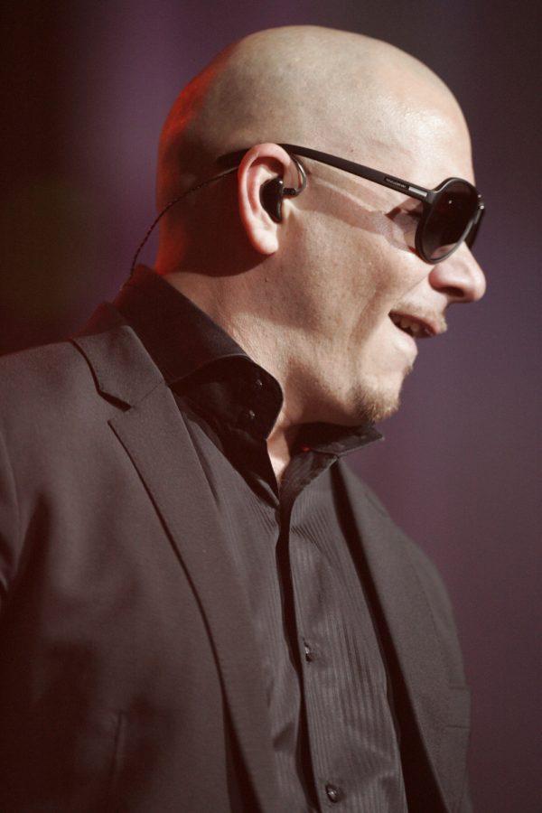 Pitbull+at+a+concert.