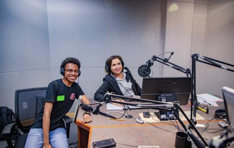 President de la Torre hosts fireside podcast