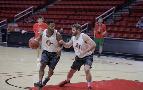 Men's basketball hosts second annual Aztec Fantasy Camp