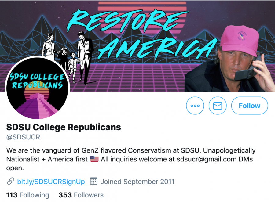 A+screenshot+of+the+College+Republicans+Twitter+page%2C+a+key+part+of+the+organization%27s+rebrand.