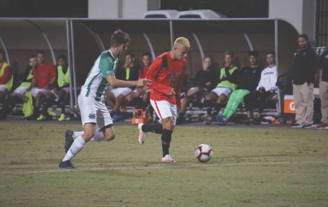 Aztecs stumble in second half, fall to No. 21 Marshall