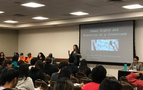 Campus panel explores crossroads between human rights, migration