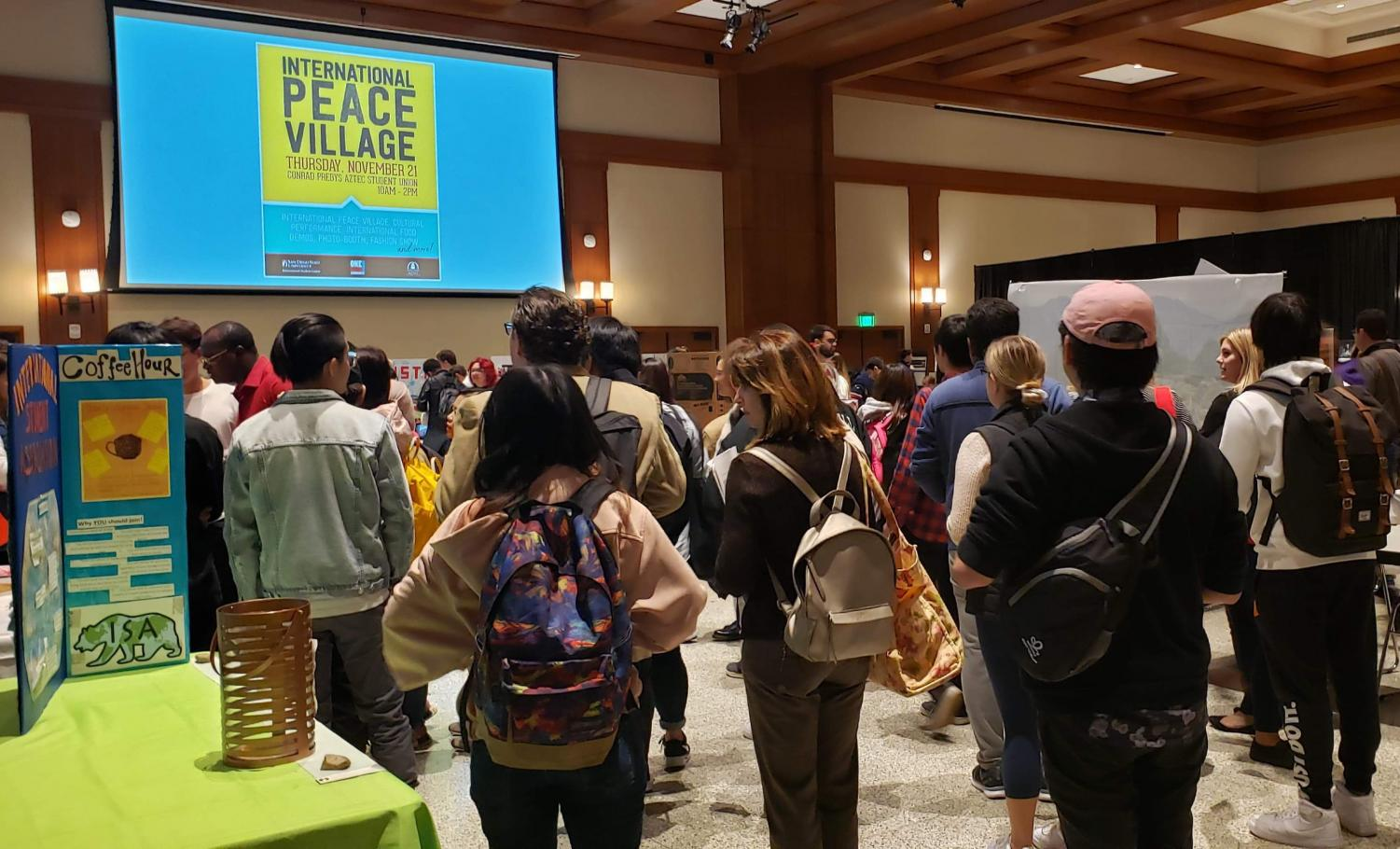 Dance and fashion were on display for the 63rd International Peace Village, held in Montezuma Hall.