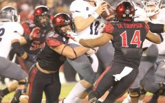 Aztecs look to rebound in rivalry game against Fresno State