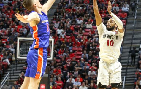 Feagin's season-high scoring keeps Aztecs undefeated in win over Boise State