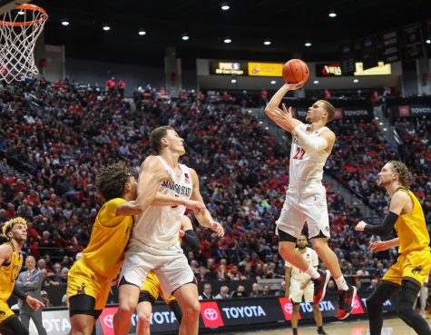 No. 21 Tar Heels a tough test for Aztecs