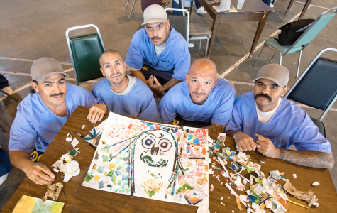 A group of inmates get a chance to create art and express themselves.