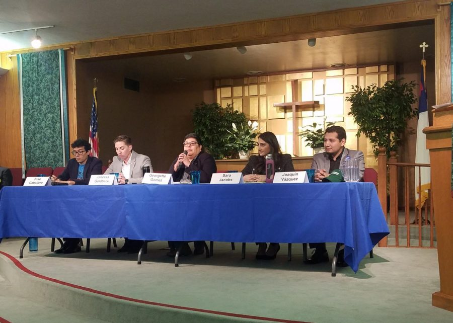 Candidates from the 53rd Congressional District debated their plans to combat climate change and increase housing supply in San Diego on Feb. 3.