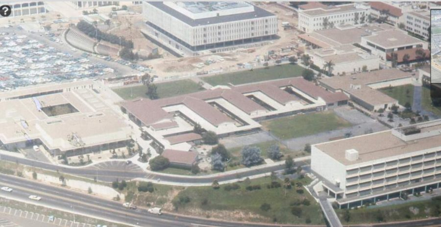 This is an old picture of the school where SDSU's campus is now.