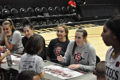 Aztecs Rock Hunger strives to break record