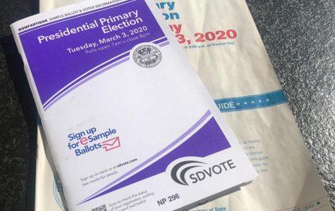 Boleta de votaciones de 2020.