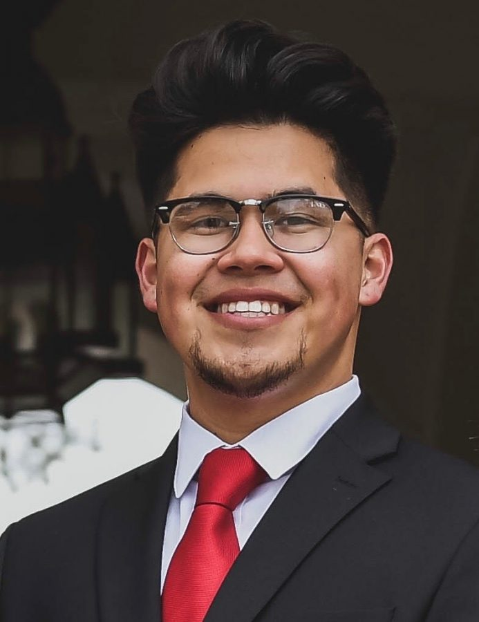 A.S. vice president of financial affairs candidate Victor Penera.