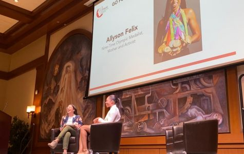 The Women in Business organization invited nine-time Olympic medalist and the most decorated track and field athlete in history, Allyson Felix, to headline the fourth annual Women in Entrepreneurial and Leadership Forum.