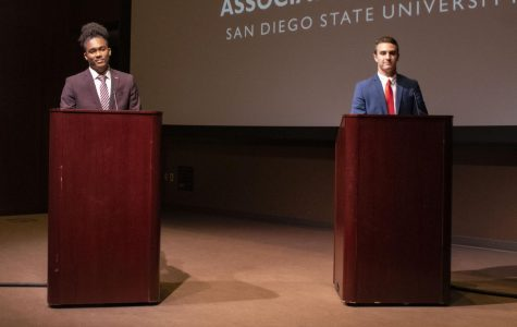 Candidates for VP of financial affairs, executive VP and president face off in second day of debates