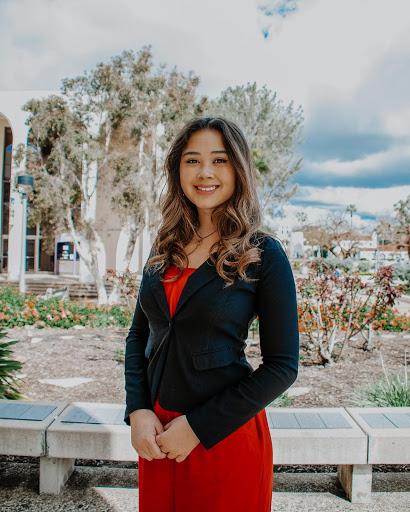 A.S. executive vice president candidate Bella Martelino.
