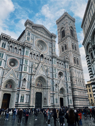 The Florence Cathedral in Florence, Italy, a country that has been hit with the third most coronavirus cases worldwide.