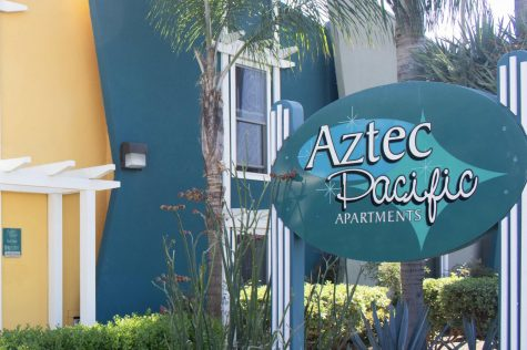 One dead, one injured in shooting at Aztec Pacific Apartments
