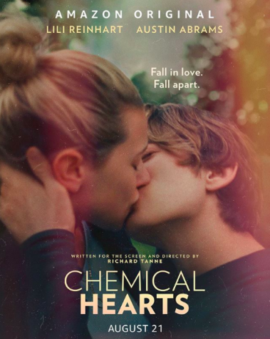 """Chemical Hearts"" stars Lili Reinhart and Austin Abrams, and can be streamed on Amazon Prime Video."