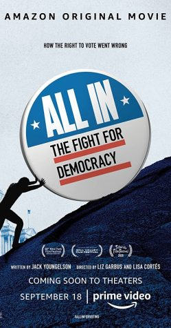 """All In: The Fight for Democracy"" highlights the history of voter suppression in America and how voting barriers affect people in different communities."