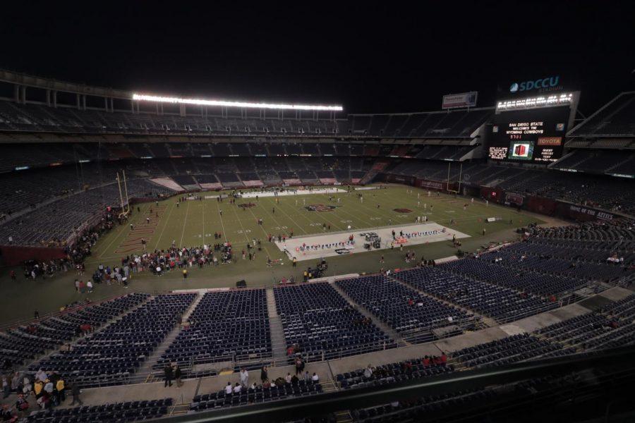 Los deportes del estado de San Diego, incluido el fútbol y el básquetbol masculino y femenine, regresarán durante la pandemia, pero lo harán sin fanáticos.