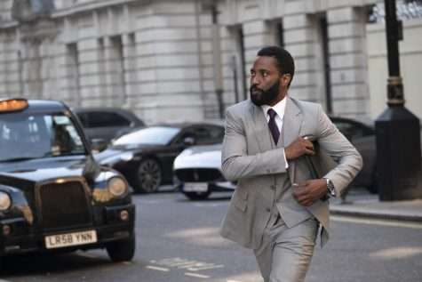 "JOHN DAVID WASHINGTON stars in Warner Bros. Pictures' action epic ""TENET,"" a Warner Bros. Pictures release."