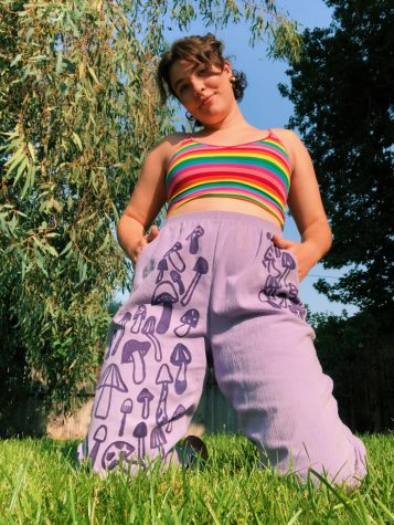 "SDSU alumna Kate Rose Mabel Coughlin started her own thrifting brand, ""Jazzy Mabel,"" in May."