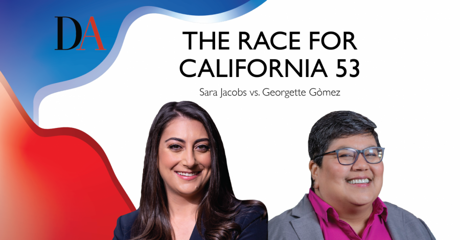 Democrats Sara Jacobs and Georgette Gòmez are both running to represent California